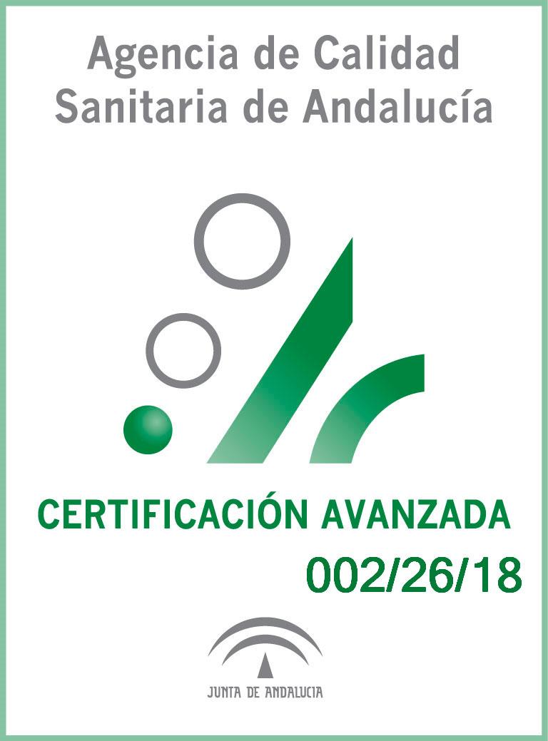 Certificación Urgencias