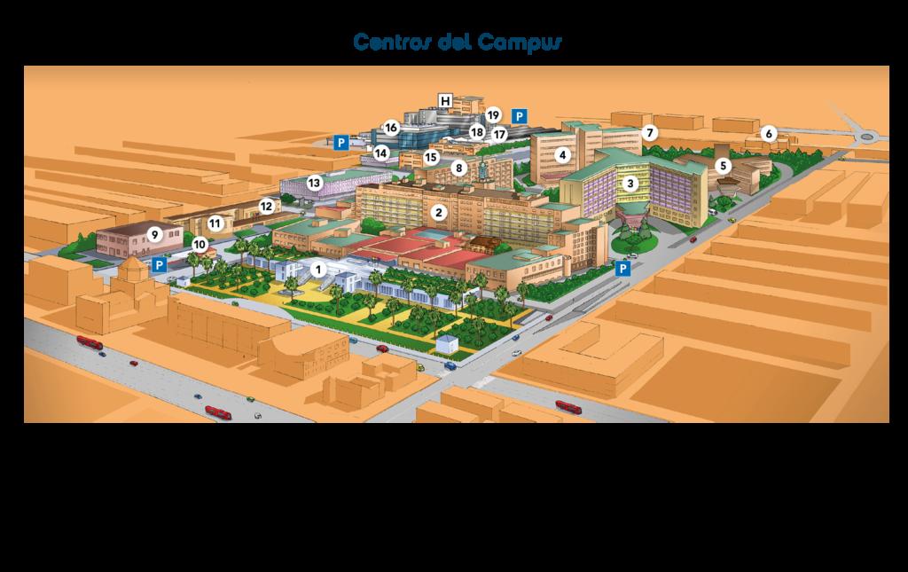 Centros del campus