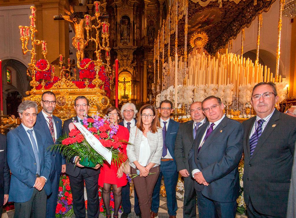 Ofrendas Florales a San Beranardo