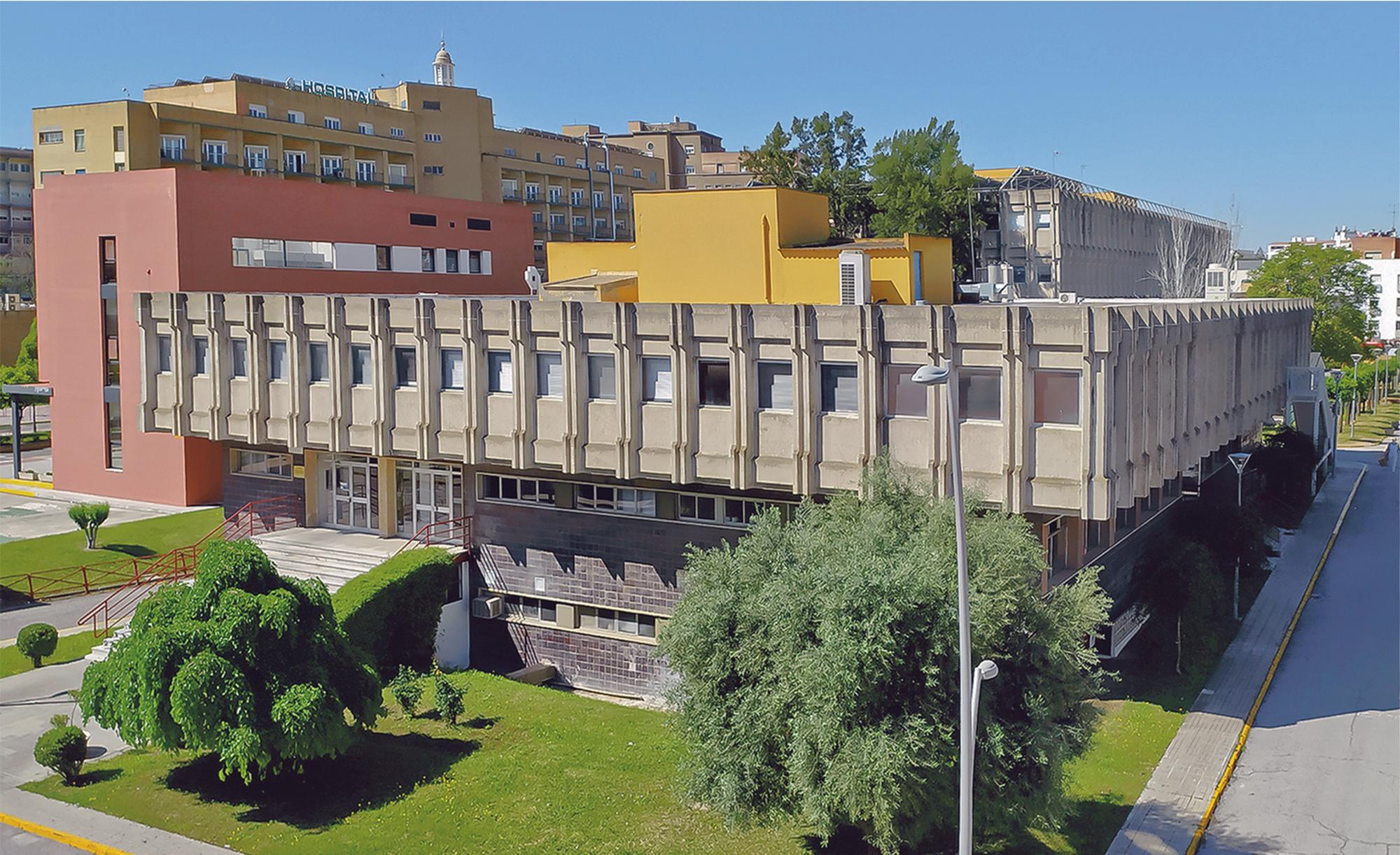 Vista del edificio de anatomía patológica
