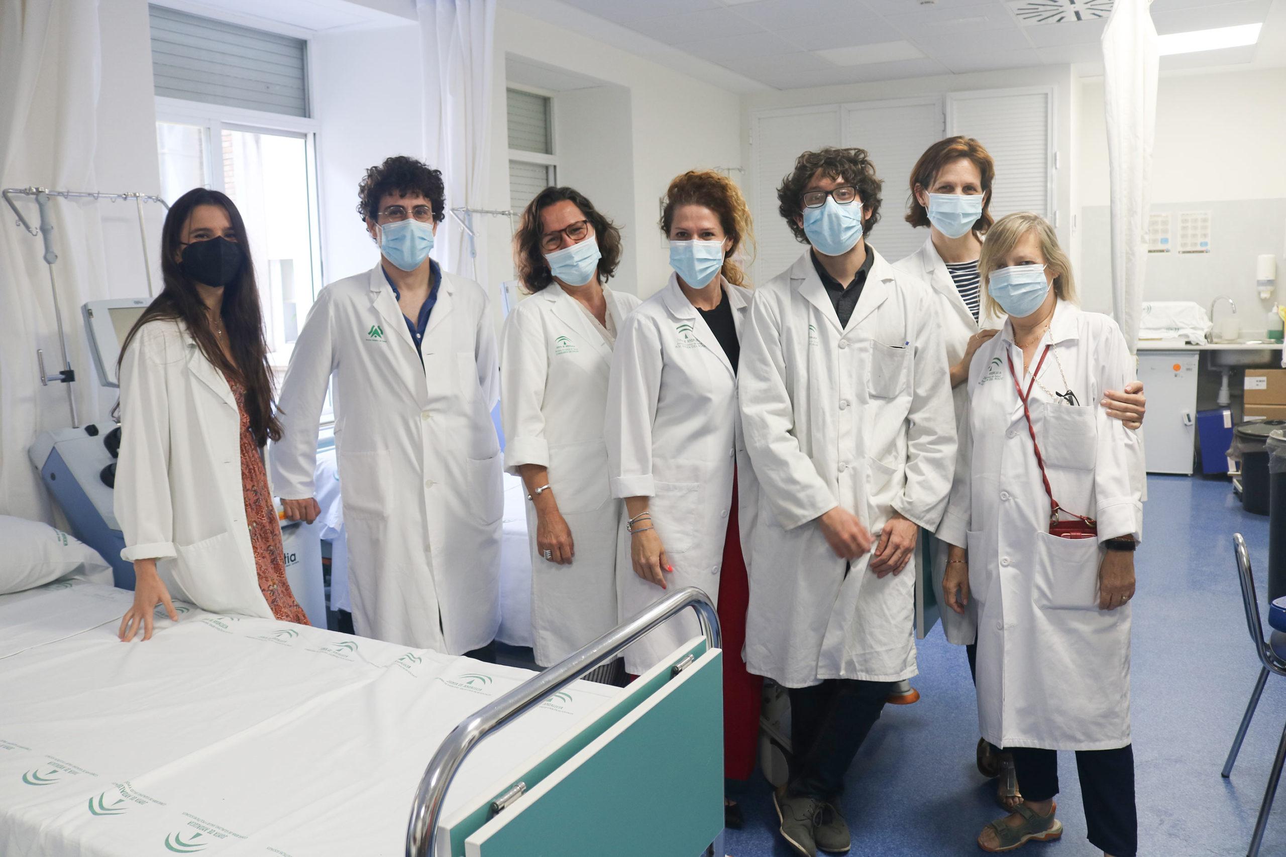 equipo de hematología