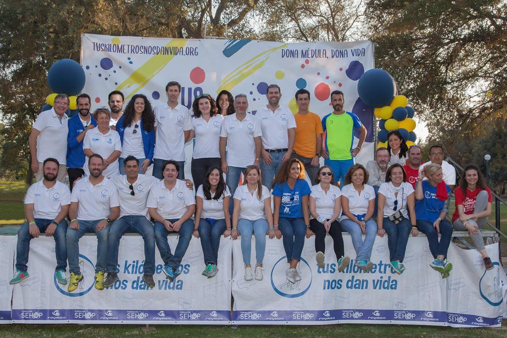 organizadores carrera Tus km nos dan vida